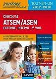 Concours ATSEM/ASEM externe, interne, 3e voie, Ville de Paris - 2017-2018