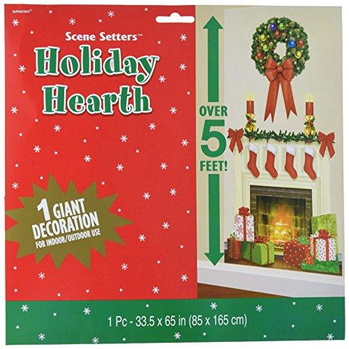 Amscan Holiday Hearth Dekoset für Weihnachten, aus Kunststoff