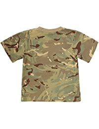 KAS Quality Kids Multi Terrain Army Camo T-Shirt -13yrs