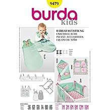 Burda 9479 Children's-Cartamodello per accessori per bambini, misure: 1 m (m-18 56-86)