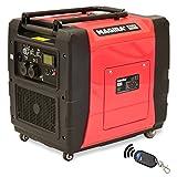 MAGIRA 7,0kW Digitaler Inverter Stromerzeuger, benzinbetriebener Generator : 800W (0,8kW) - 7000W (7,0kW)