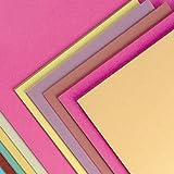 Baker Ross, lot de 50feuilles de papier en couleurs assorties, de format A3,...