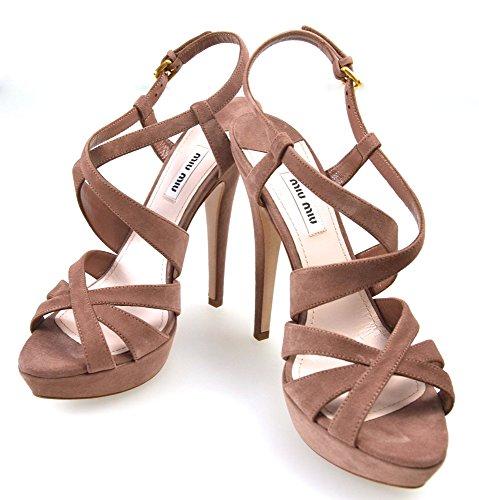Miu-Miu-Woman-Sandal-Shoes-Dark-Rose-Suede-Code-5XP349-38-Rosa-Scuro-Dark-Rose