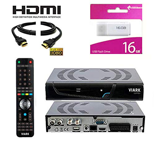 Kit Receptor VIARK Combo DIGITALIA -Regalo HDMI +Memoria USB 16GB