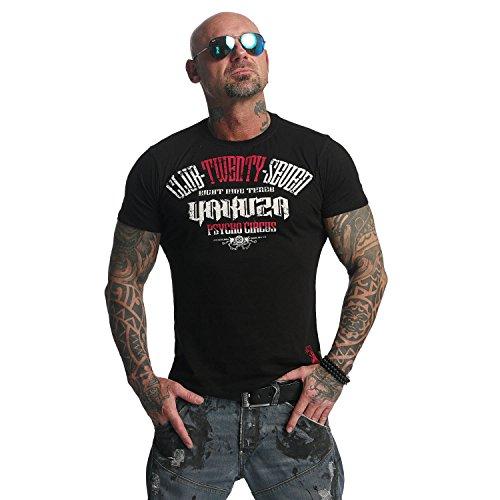 Yakuza Uomo Maglieria/T-Shirt Psycho Circust Nero