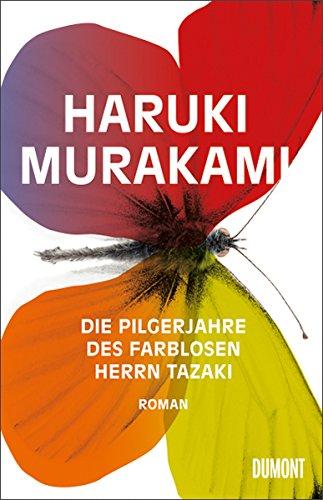 Buchseite und Rezensionen zu 'Die Pilgerjahre des farblosen Herrn Tazaki' von Haruki Murakami