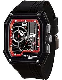 Jorg Gray Herren-Armbanduhr Chronograph Quarz Kautschuk JG7100-23