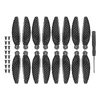 XUSUYUNCHUANG Carbon Fiber Propellers for DJI Mavic Mini propeller CW CCW 4726F Blades Props for mavic mini accessories RC Drone Quadcopter Drone Accessories (Color : 16 pcs)