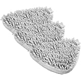 Coral Detergent Steam Mop Pads - 3 Pack (Compatible with Holme and Abode Detergent steam Mops and Vax S2S)