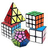 coolzon speed cube rubiscube, ensemble de cubes 2x2 3x3 4x4 pyraminx pyramide cube megaminx, cube