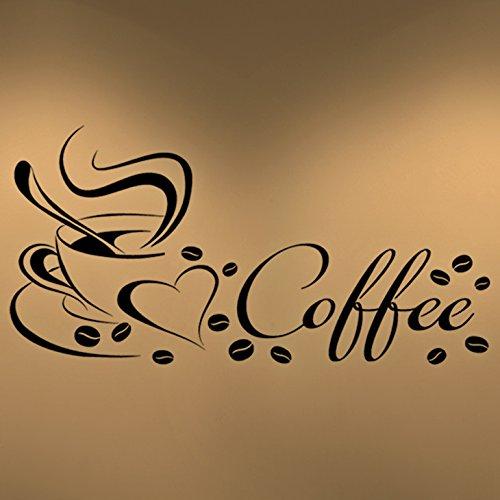 Grandora Coffee Kaffeetasse Herz W922 schwarz 15 x 29 cm