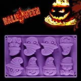 mxjeeio Kreative Happy Halloween Styling Kappe Kürbis Kürbis Backform Silikon Kürbis Kuchen Silikonform Küche Backenwerkzeuge