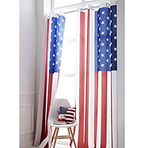 usa flagge sen vorhang. Black Bedroom Furniture Sets. Home Design Ideas