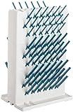 Bel-Art-Products-Lab-Aire 189330023 II-Supporto per asciugatura da banco, Non elettrici, Double-face, 37,46 (14,75 cm larghezza x profondità x altezza 56,90 cm (22,4') 25,40 (10 cm