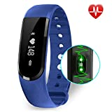 Fitness Tracker Smart Watch With Heart Rate Monitor BigFox Bluetooth 40 IP67 Waterproof Fitness Watch Activity Tracker Band With Health Sleep Monitor Pedometer Calorie Counter Step CounterCamera Remot