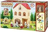 Sylvanian Families 2738 3 stöckiges Haus + Figur + Möbel