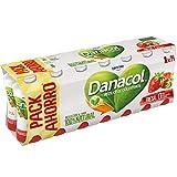 Danone Danacol - Bebida Leche desnatada, Fresa, Pack 14 x 100 g