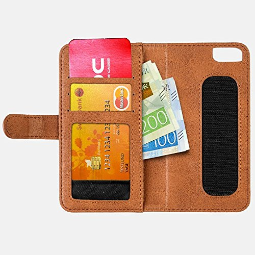 Wallet and case MOC Velcro Book for iPhone 6/7/8 Black 8 Moc