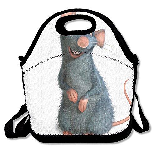 Ratatouille película Travel Tote bolsa para el almuerzo 11
