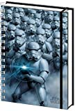 empireposter - Star Wars - Stormtrooper Lenticular - Größe (cm), ca. 15x21 - Premium Notizbücher, NEU - Beschreibung: - Offizielles Lizenz-Notizbuch im handlichen A5 Format (ca.21x15cm), hochwertig verarbeitetes Cover in 3D-Optik, Spiralbindung mit Gummiband. 180 Seiten blanko. -