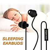 MAXROCK Sleep Earplugs - Noise Isolating Ear Plugs Sleep Earbuds Headphones Unique Total
