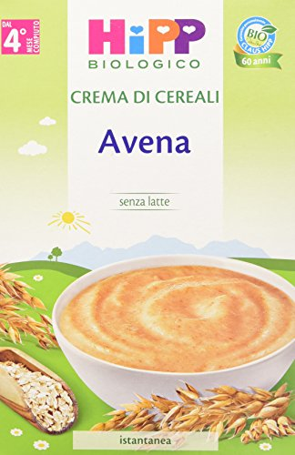 Hipp Crema di Cereali Avena 6 Pacchi da 200 g