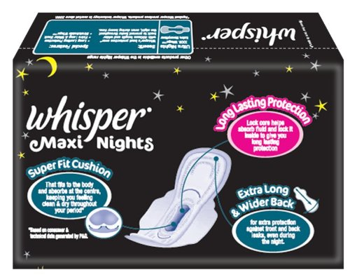 Whisper Maxi Nights XL Wings