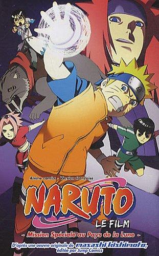 Anime Comics Naruto - Mission Spéciale au Pays de la Lune