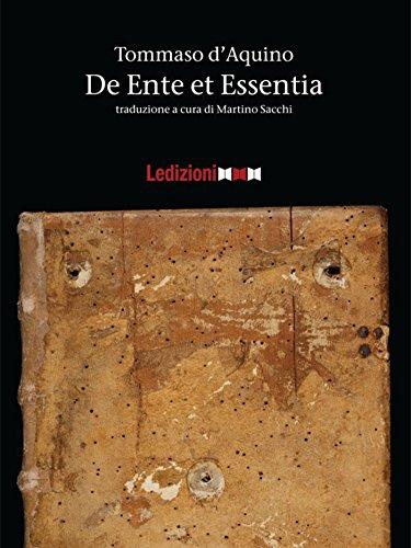 De Ente et Essentia