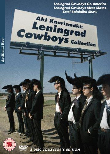 Aki Kaurismki: Leningrad Cowboys Collection (Leningrad Cowboys Go America / Leningrad Cowboys Meet Moses / Total Balalaika Show