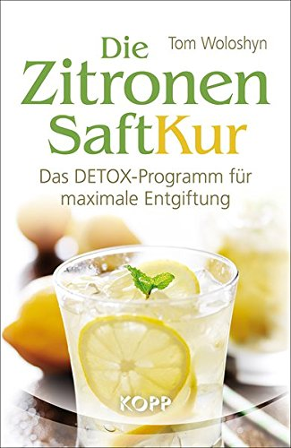 Reinigende Diät-detox (Die Zitronensaft-Kur)