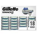 Gillette Mach3 scheermesjes Scheermesjes (geschikt voor brievenbus). 18 Stück