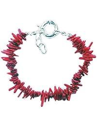 Ast Koralle rot Armband