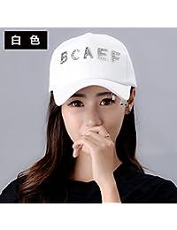 YXLMZ Señoras Mujeres Sombreros Verano Hip Hop Gorra Visera Exterior  Parejas Personalizado Sun Hat Cap Letras b283f65bed3