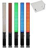 Yongnuo YN360 Pro LED Luz de Vídeo Portátil 3200k 5500k RGB Colorido 39.5CM ICE Palo Temperatura Adjustable LED Stick para DSLR Cámara Videocámara DV Fotografía Iluminación y Selens Paño de Limpieza