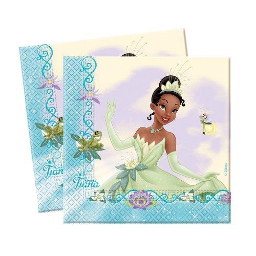 Disney Princess & The Frog Küss den Frosch 20 Servietten