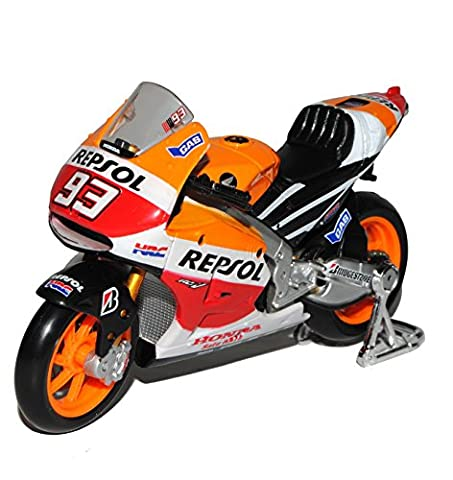 Honda RC213V Repsol Moto GP Weltmeister 2014 Marc Marquez Nr 93 1/18 Maisto Modell Motorrad
