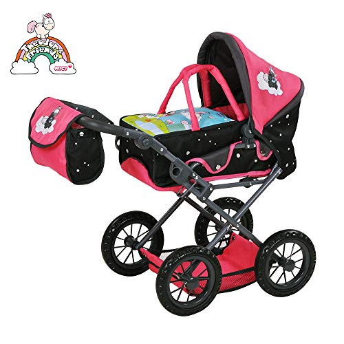 Knorrtoys 80211 NICI Theodor Carbon - Puppenwagen Ruby