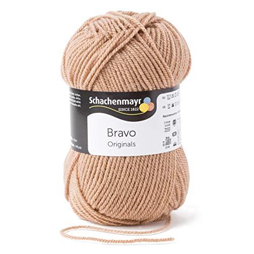 Beige Farbpalette (Schachenmayr Bravo 9801211-08312 beige Handstrickgarn, Häkelgarn)
