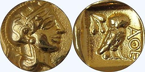 Sonderpreis 50% Rabatt, Athena & Owl Coin,