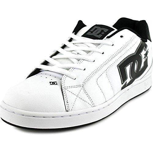 DC Net Skate Shoes - White / Battleship / White (Battleship Schuhe)