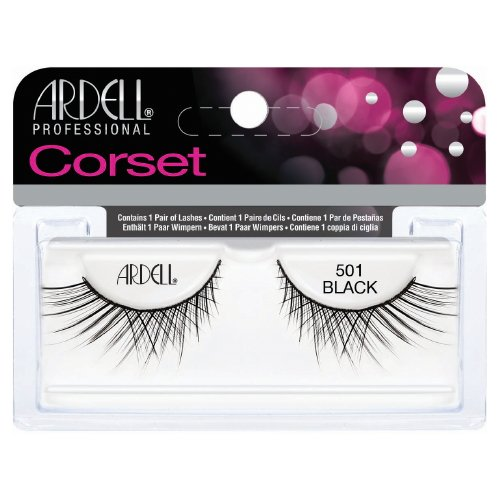 (6 Pack) ARDELL Professional Lashes Corset Collection - Black 501