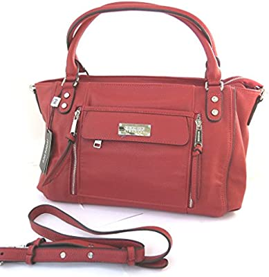 Bolsa 'french touch' 'Georges Rech'rojo.