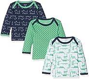Care Camisa Manga Larga Bebé-Niños, Pack de 3