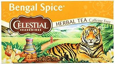 Celestial Seasonings Épices du Bengale Infusion 20 Sachets 47 g