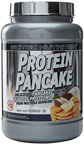 Scitec Nutrition Pancake Mix, Suplemento Dietético, Chocolate Blanco y Coco, 1036 g