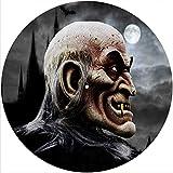 Slipmat Tapis de protection en feutre pour disque disque disque disque disque disque disque vinyle DJ 30,5 cm Motif Dracula...