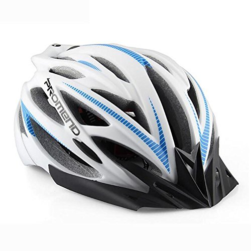 MIAO Fahrradhelm-Outdoor Integrierte Forming Mountainbikes Männer und Frauen Helme Radfahren Schutzausrüstung , white