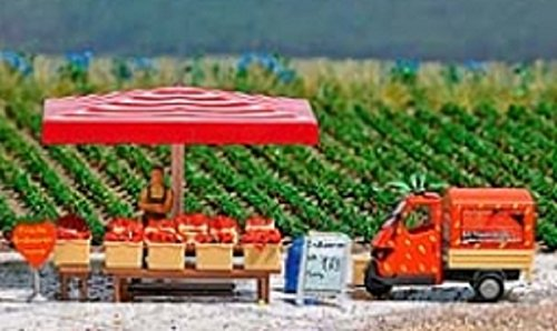 Preisvergleich Produktbild Busch 7725 - Mini-Welt: Erdbeer-Verkaufsstand