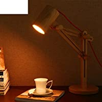Lampade da lettura in legno semplice lampada/Camera da letto Studio